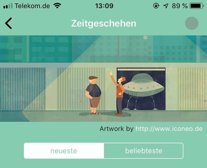 """Die App """"Lists & Art"""" oder: Lust auf Listen"""
