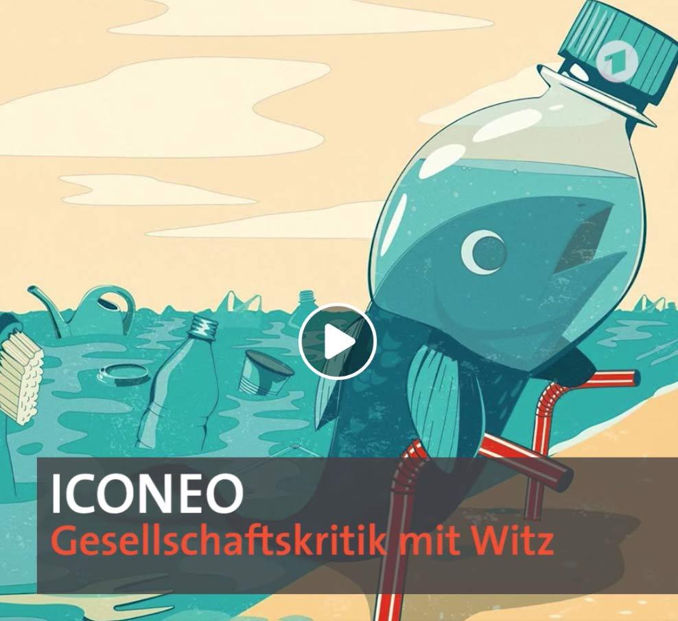 """Die ARD-Show """"ttt – Titel Thesen Temperamente"""" und ICONEO"""