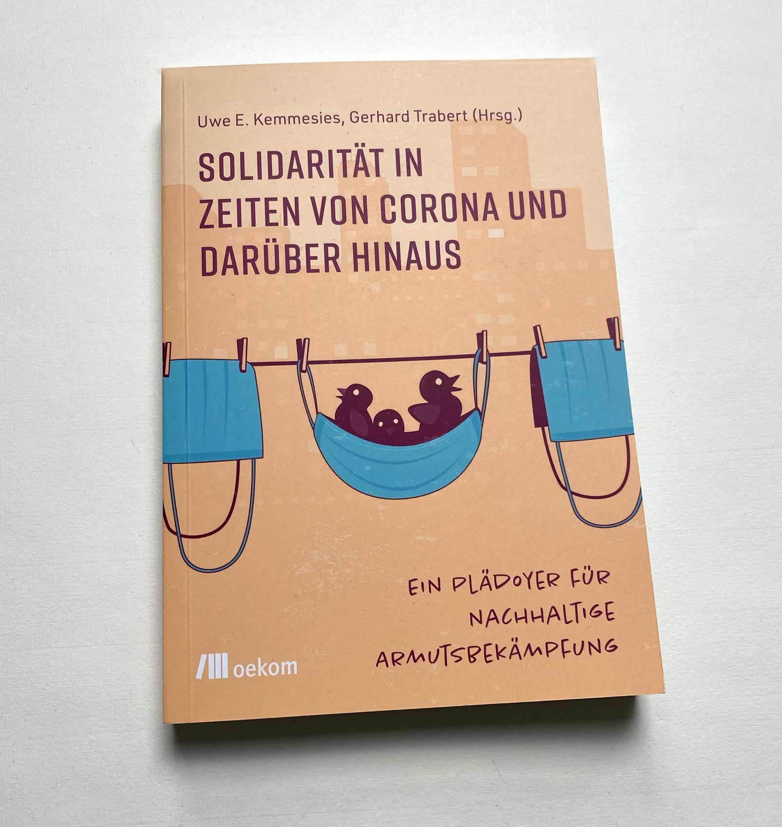"""Cover und Artikel für das Buch """"Solidarität in Zeiten von Corona"""""""
