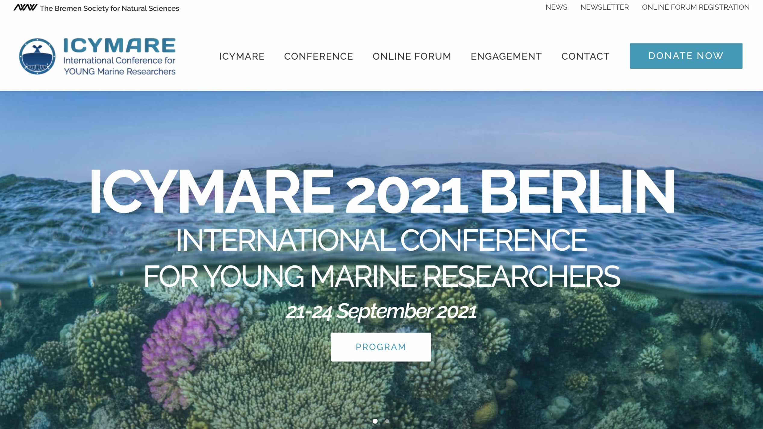 ICONEO auf der ICYMARE International Conference